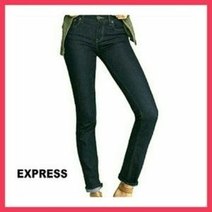 Express Mid Rise Skinny Jeans (Mia)